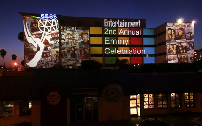 ENTERTAINMENT WEEKLY, Projection Mapping