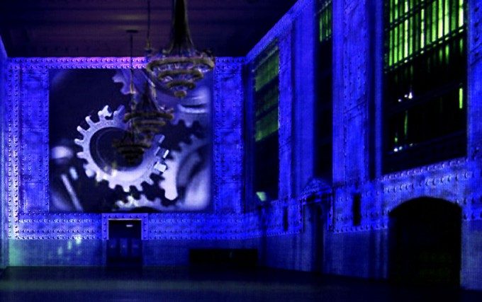 ANGEL CITY DESIGNS, Grand Central Station Projection