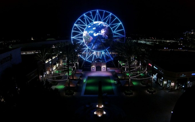 IRVINE COMPANY, LED Video Screen on Ferris Wheel