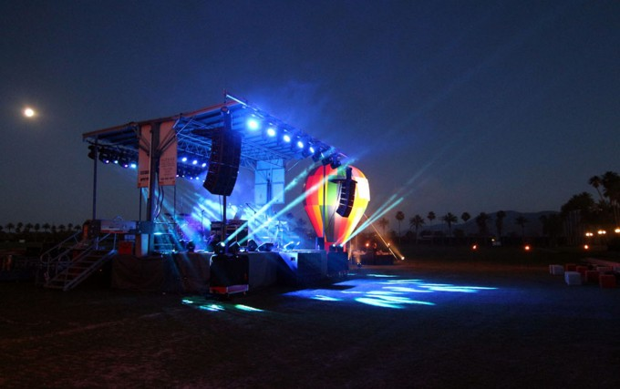 EMPIRE POLO FIELDS, Portable Stage