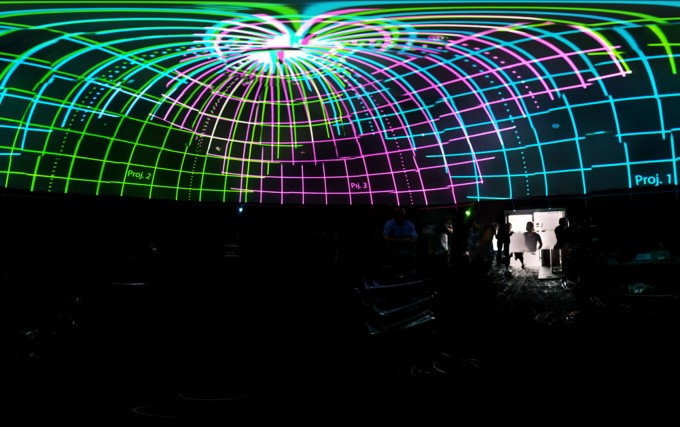 SEIBO, Dome Projection