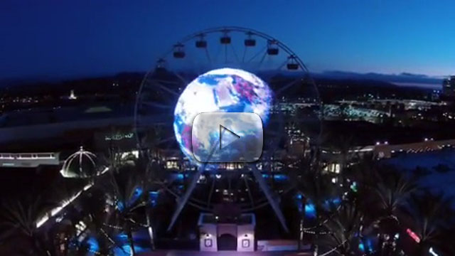 IRVINE GIANT WHEEL LED Wall